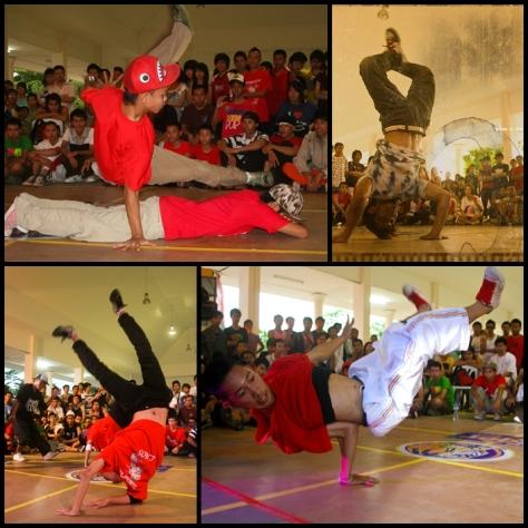 B-Boy dancing 2