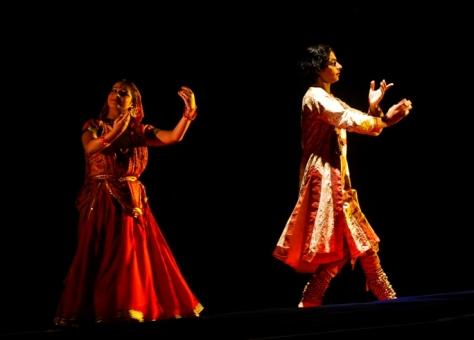 Lao Rock_Indain Kathak dance_live in Vientiane (10)