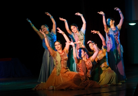 Lao Rock_Indain Kathak dance_live in Vientiane (11)