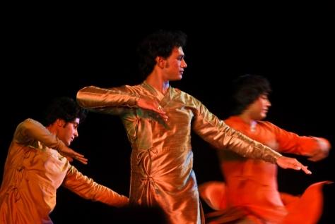 Lao Rock_Indain Kathak dance_live in Vientiane (2)