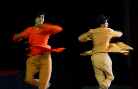 Lao Rock_Indain Kathak dance_live in Vientiane (3)