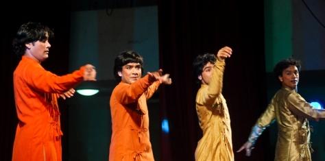 Lao Rock_Indain Kathak dance_live in Vientiane (4)