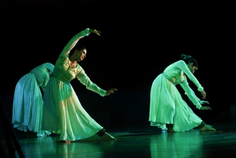 Lao Rock_Indain Kathak dance_live in Vientiane (8)