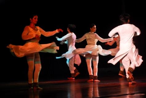 Lao Rock_Indain Kathak dance_live in Vientiane (9)